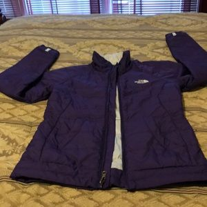 Northface purple jacket
